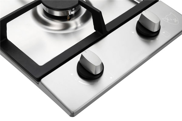Appliances K&H 2 Burner 12 LPG/Propane Gas Stainless Steel Cooktop 2-SSW-LPG